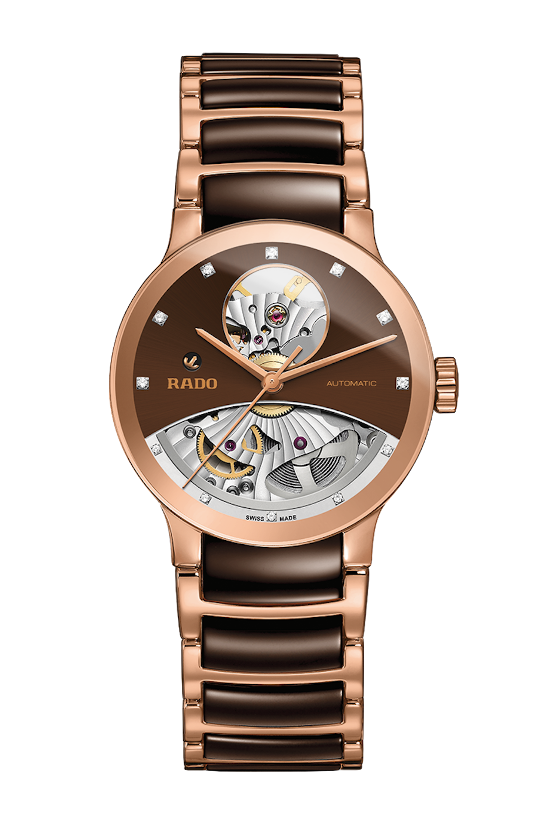 Rado Uhr in Metalloptik